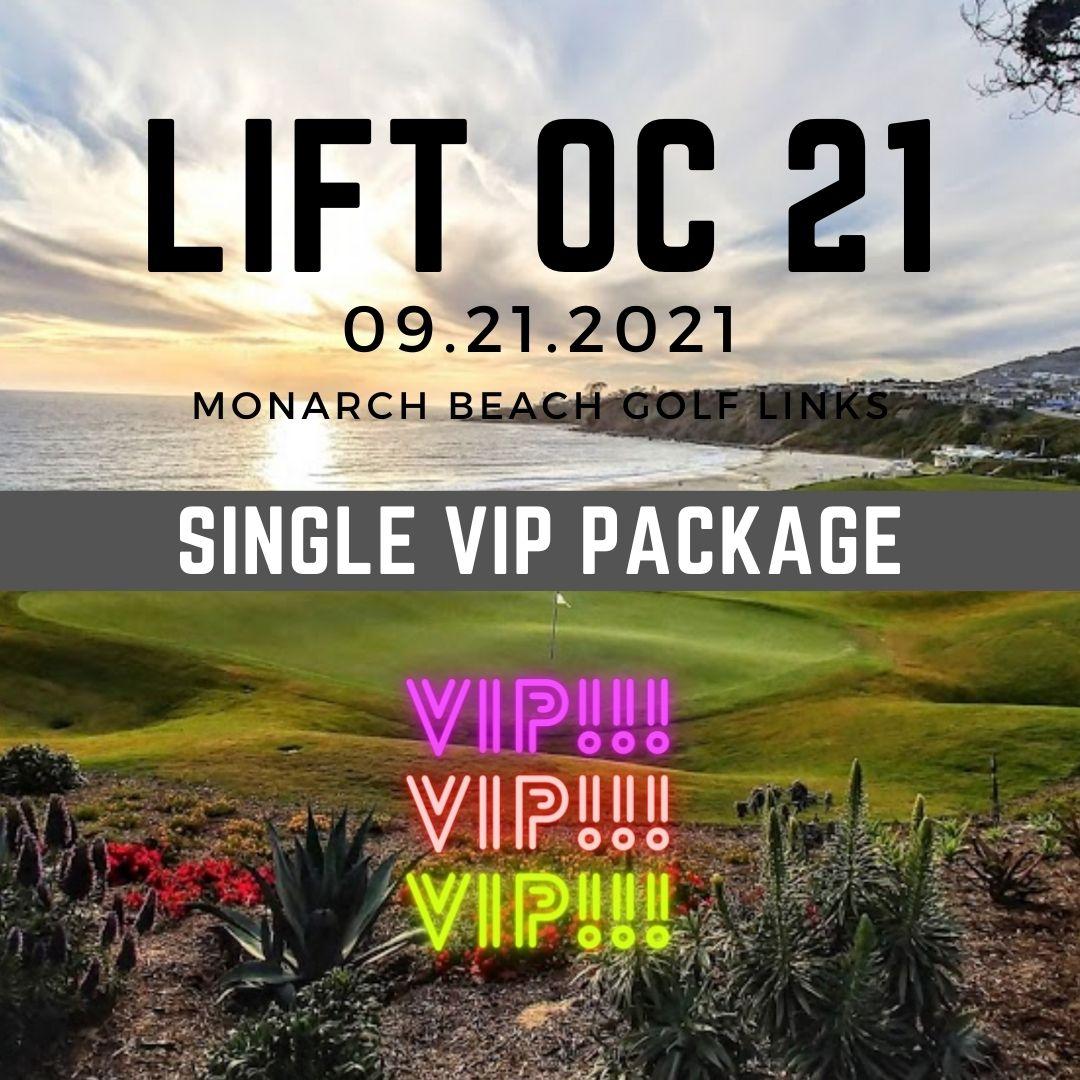 Individual Golf + VIP Package